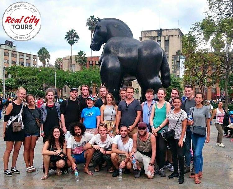 Free Walking Tour of Medellin