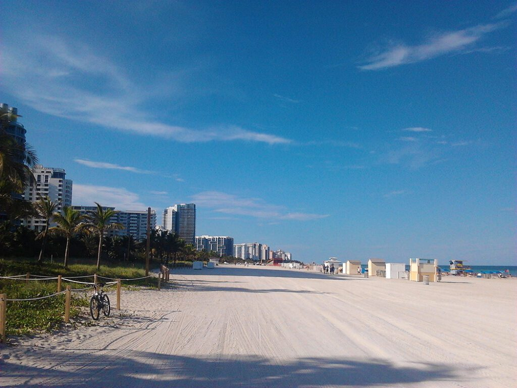 Miami -Southbeach, a spot to be visited during 24 hours in Miami