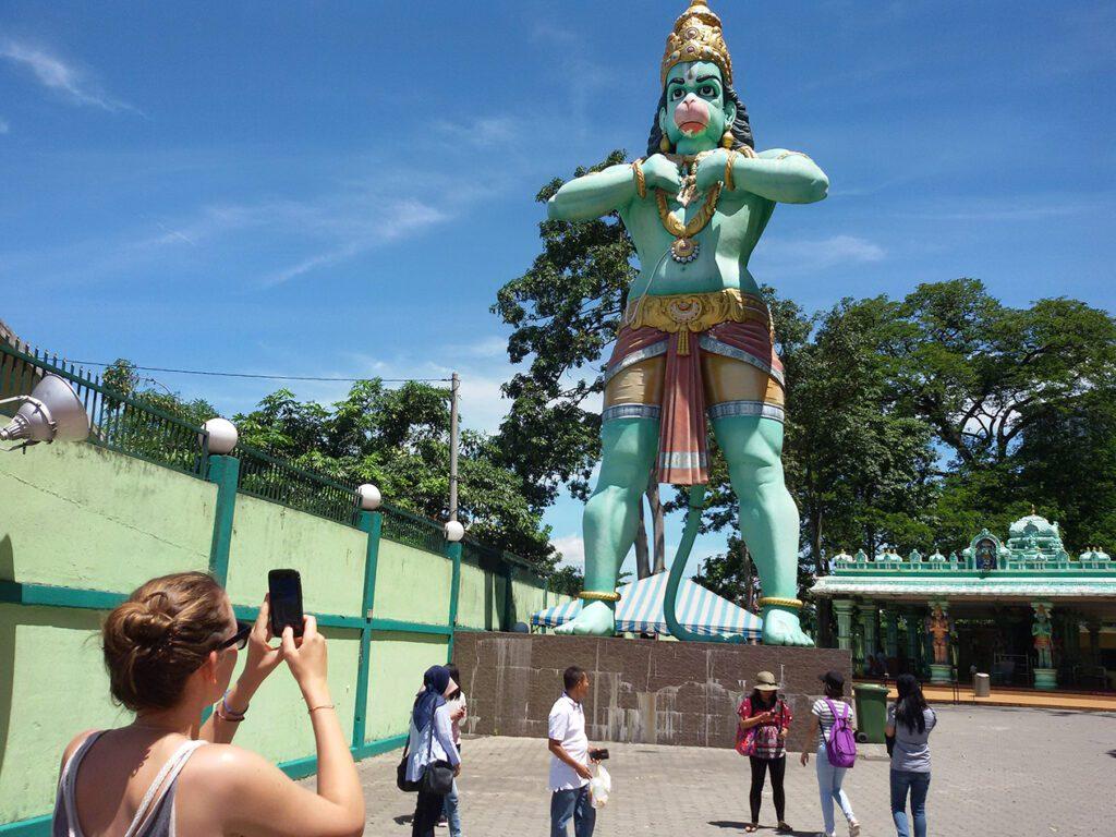 Hanuman at the Batu Caves
