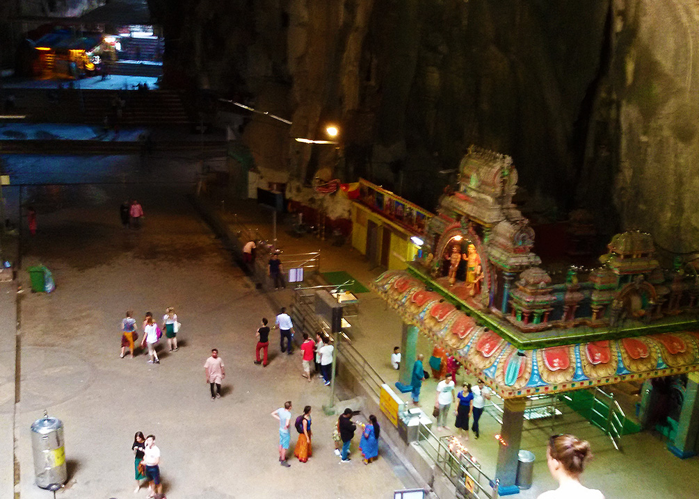 The main cave - also called Cathedral.