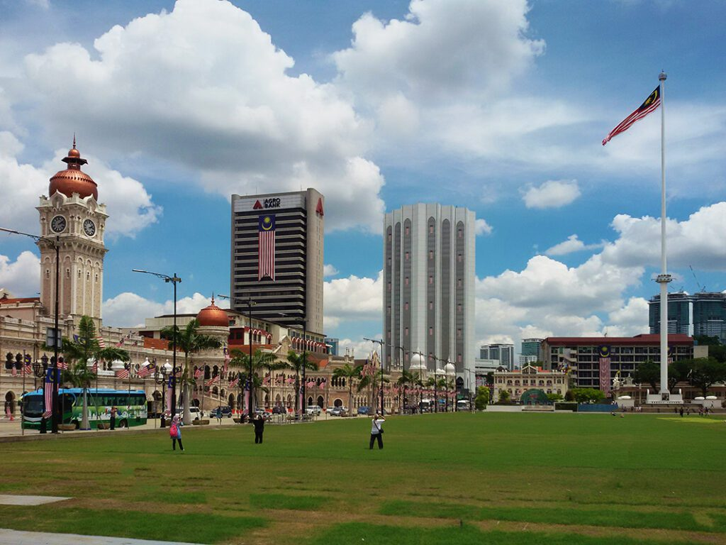 Sultan Abdul Samad Building and the Merdeka Square