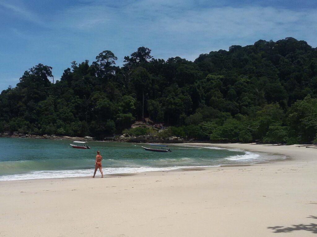 Beach on Pulau Pangkor