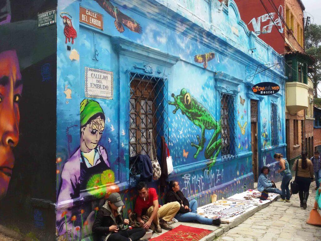 Callejon del Embudo in Bogotá