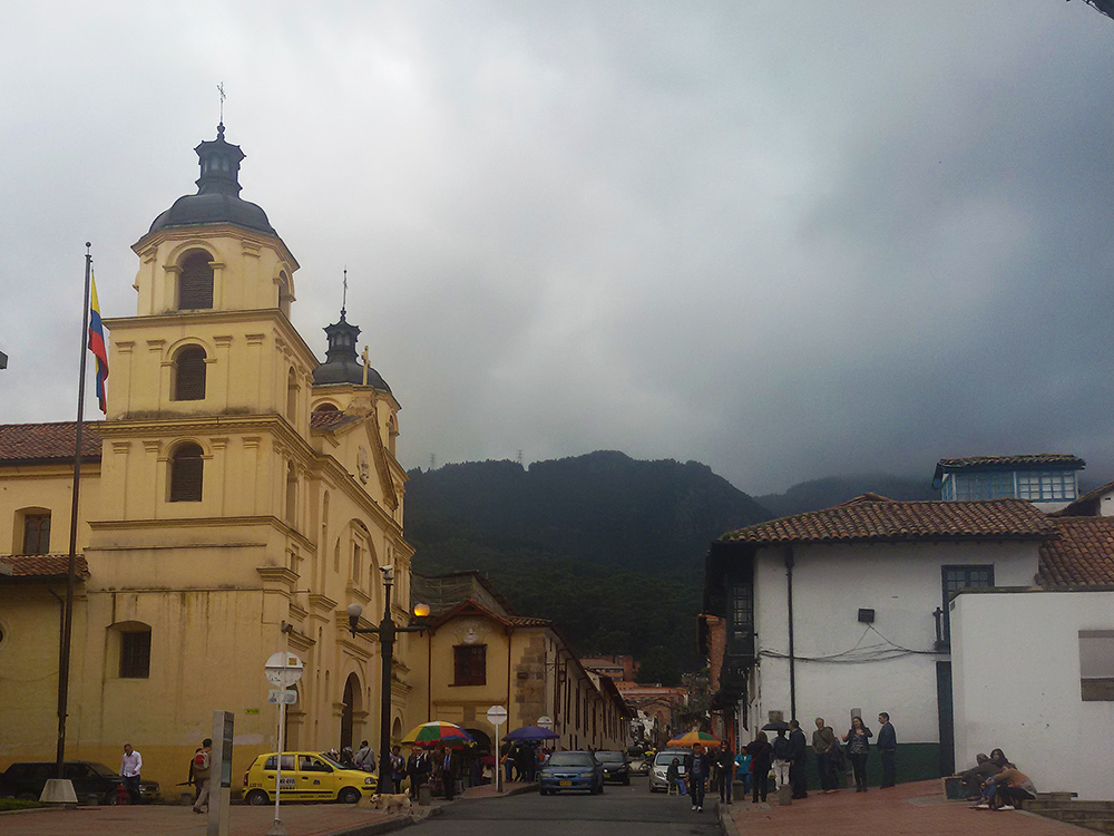 Iglesia de la Candelaria in Bogotá