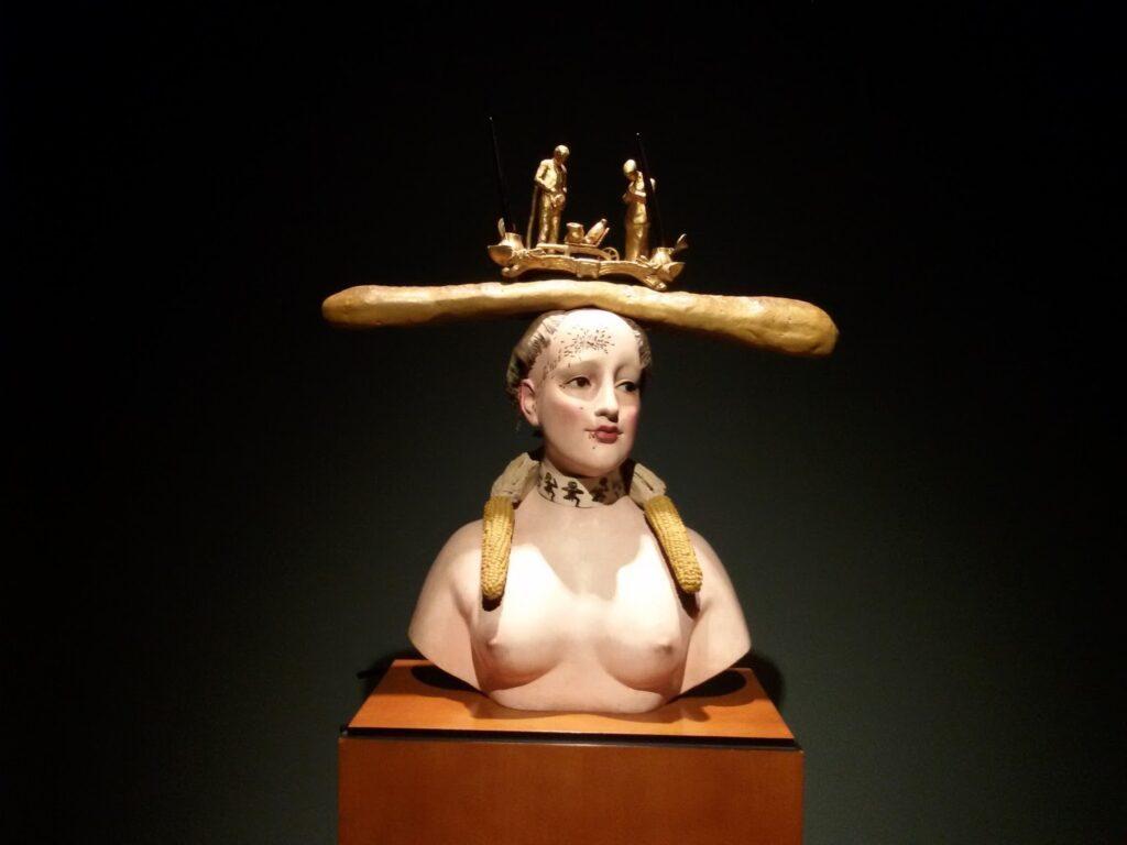 Salvador Dalí Bust of a Woman