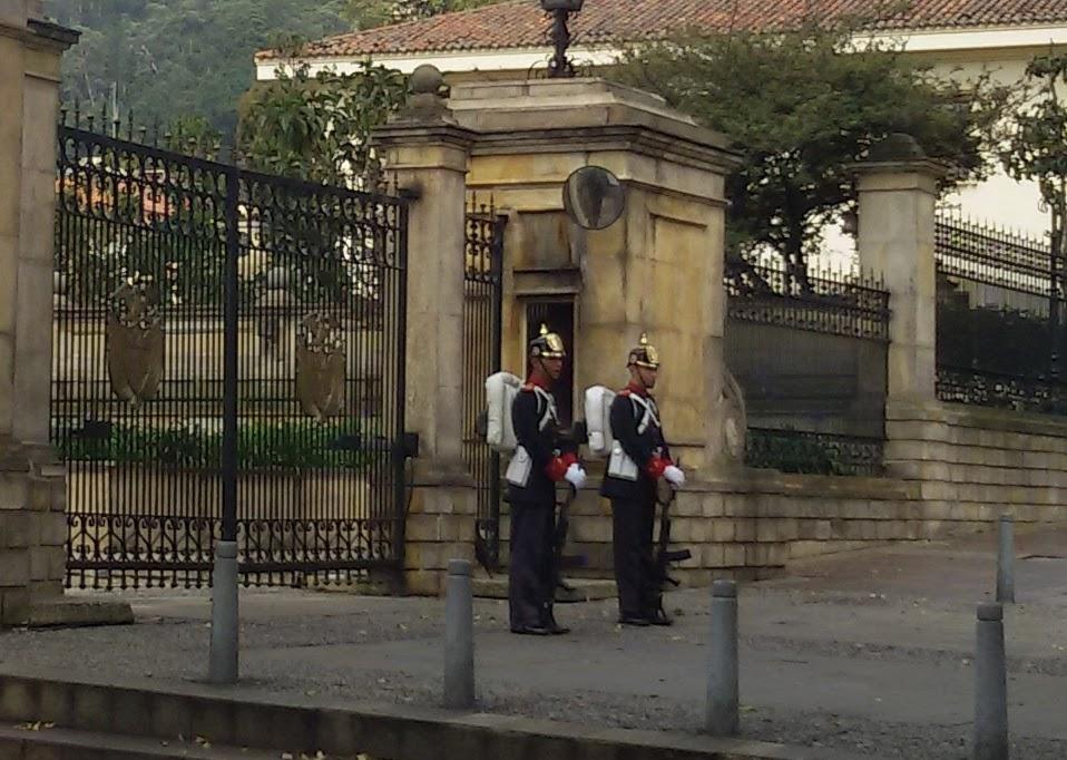 Casa de Nariño in Bogotá