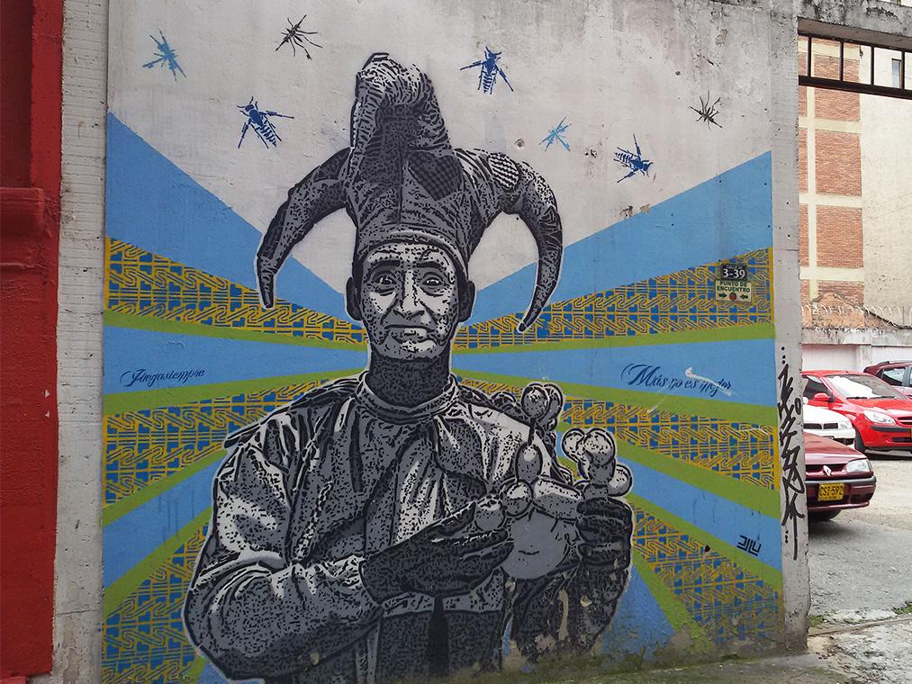 bye:myself - Renata Green - byemyselftravels: Guide to Bogota. Mural Graffiti Streetart Juegasiempre