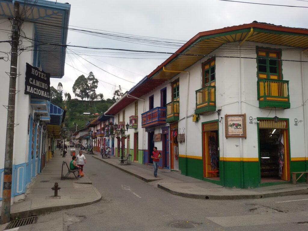 Carrera 6 in Salento Colombia's Coffee Region