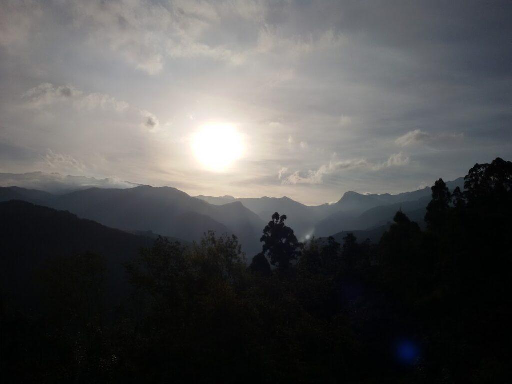 Sunrise over Valle Cocora