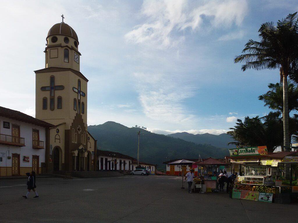 Nuestra Señora del Carmen at Salento Colombia's Coffee Region