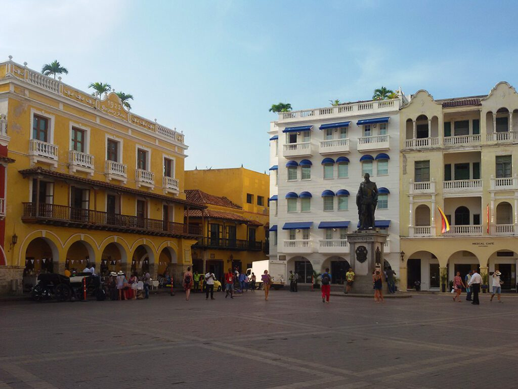 The main square, Plaza de los Coches. This is where during the Colonial times they parked their carriages.