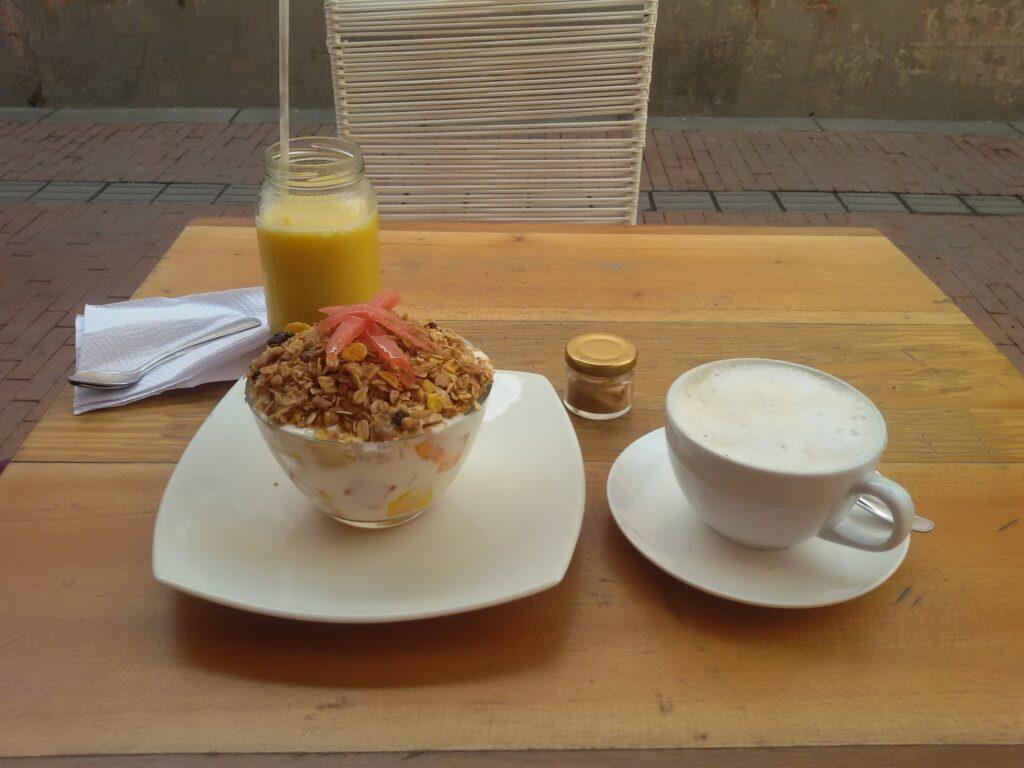 Breakfast at Santa Marta