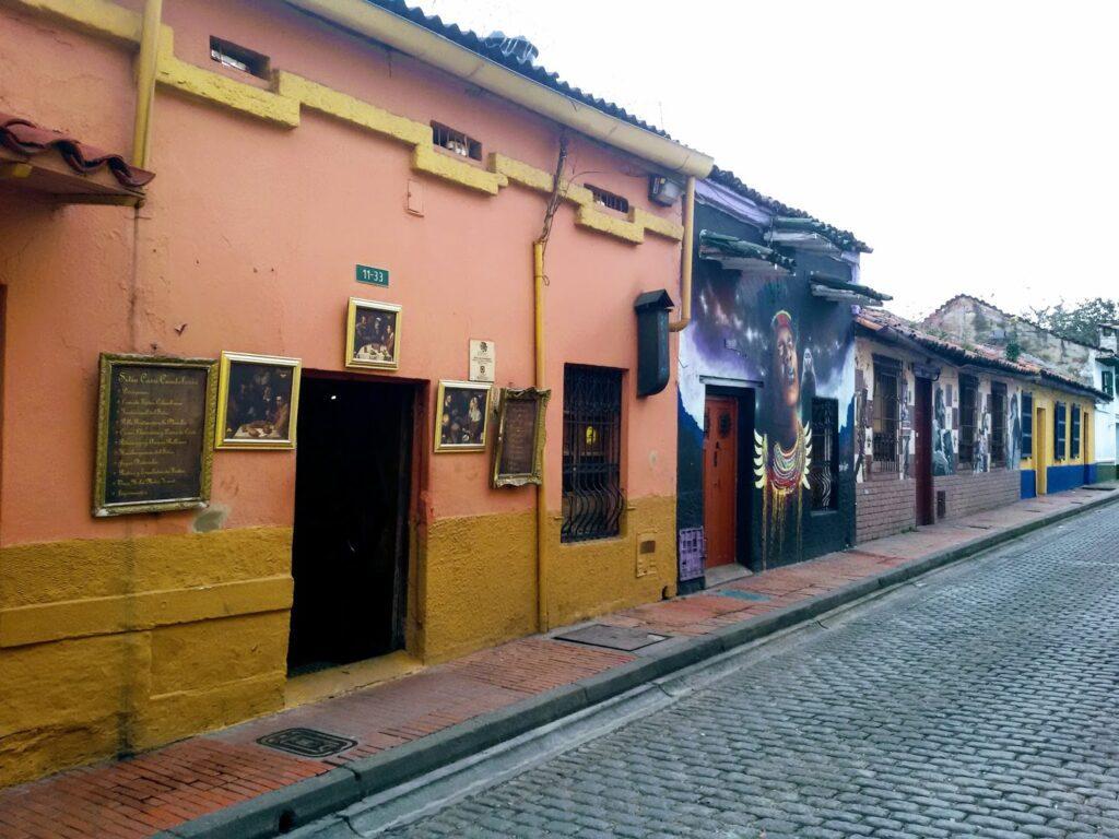 Candelaria District in Bogotá