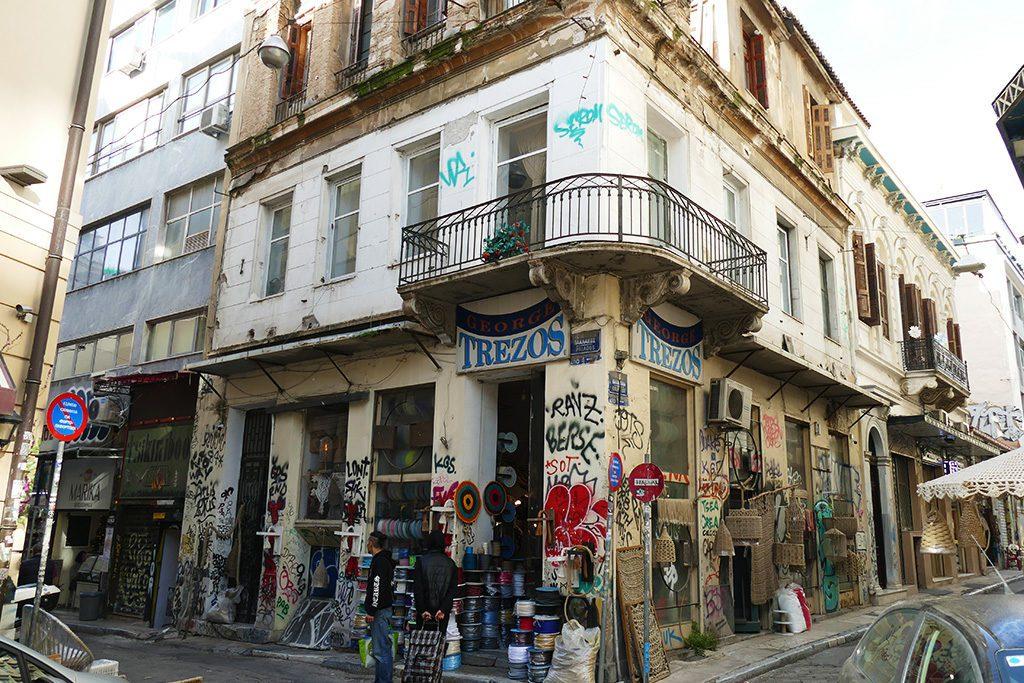 Store at Psirri, Athens, Greece