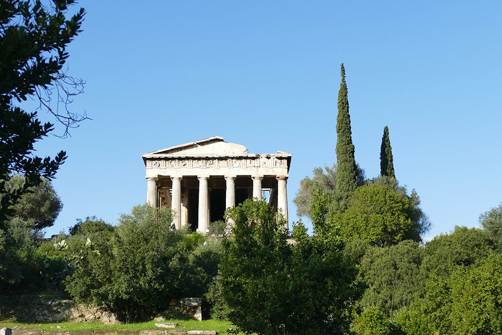 Temple of Hephaestus at the Ancient Agora