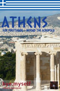 Pinnable Picture A first trip to Athens can be a bit intimidating: Next to the famous archeological sites and cute tourist places, the city is a bit rough around the edges. This post will guide you to all the places of interest and show how amazing Athens is underneath the bad boy attitude.