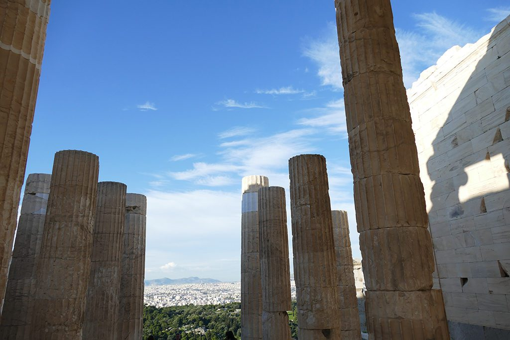 The Propylaea of the Acropolis.