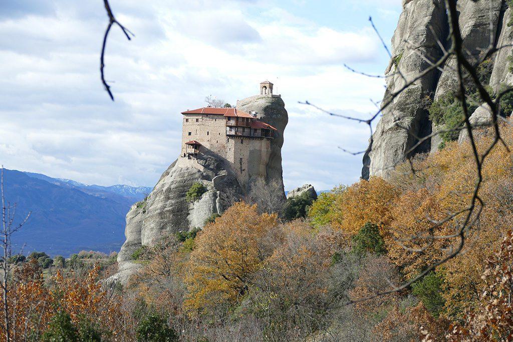 Saint Nicholas of Anapafsas monastery in Meteora