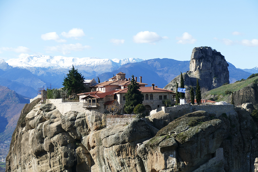 Holy Trinity Monastery in Meteora
