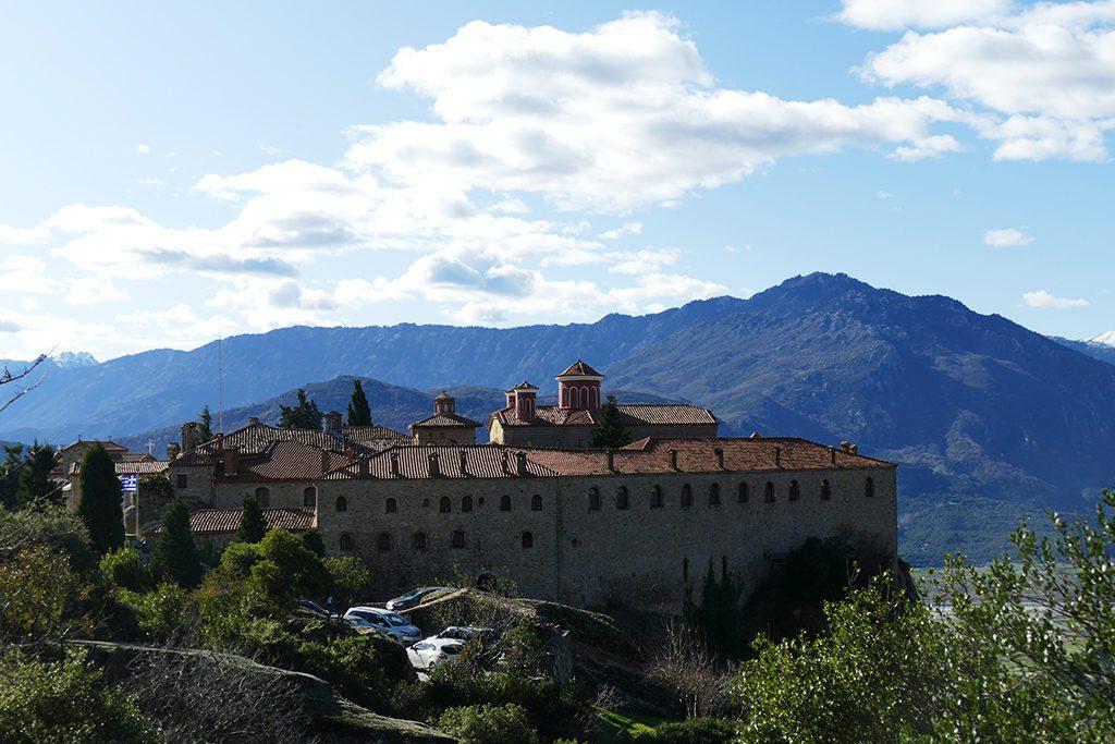 St. Stephens Monastery in Meteora, Greece