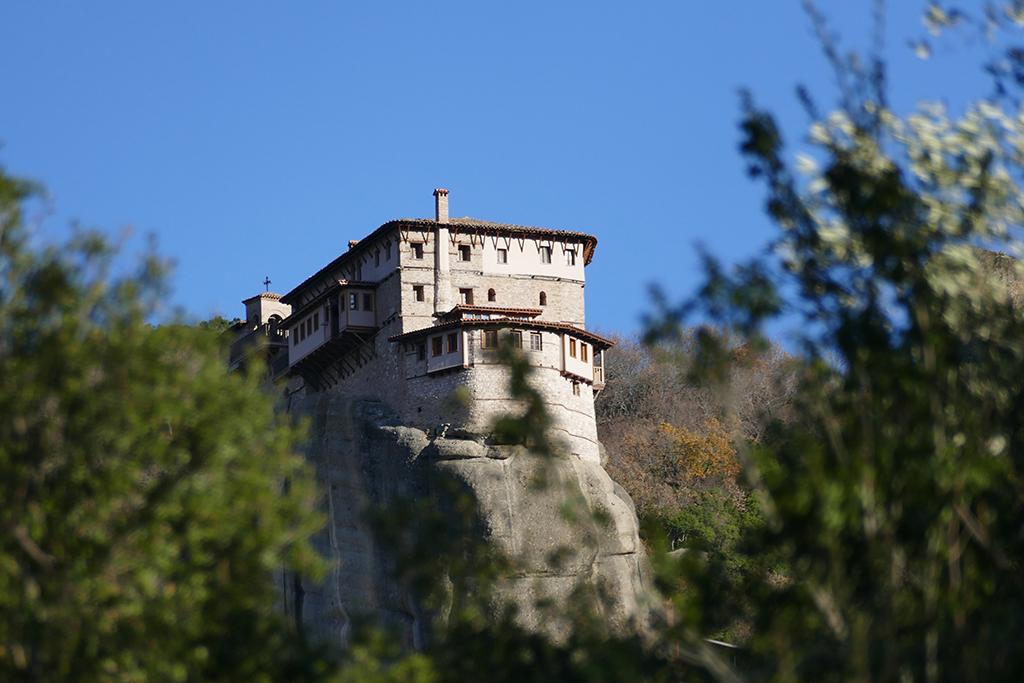 Monastery of Rousanou in Meteora, Greece