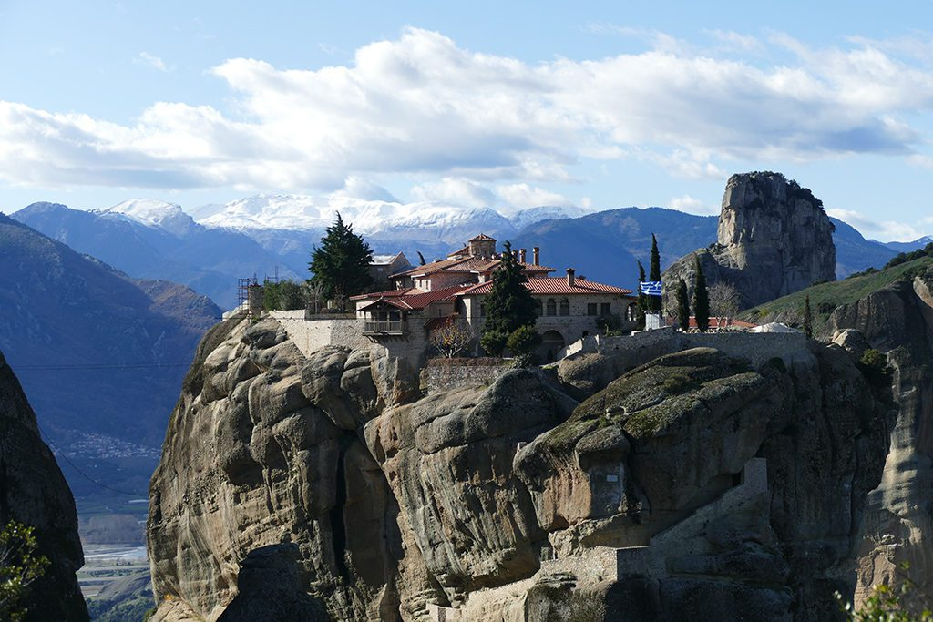 Holy Trinity Monastery at Meteora, Greece