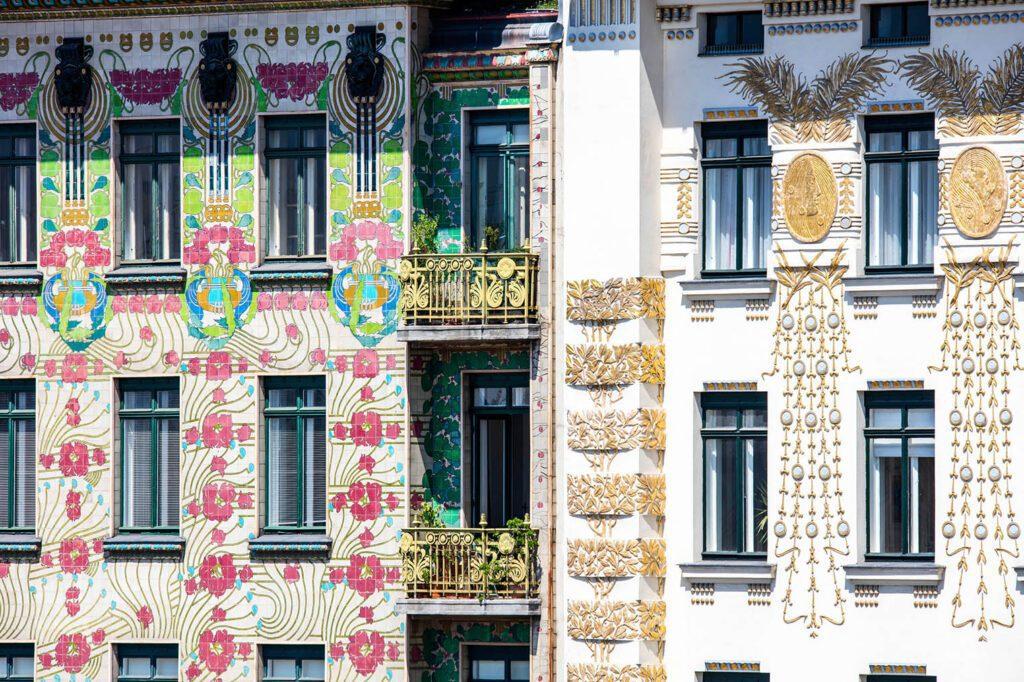 Art Nouveau facades