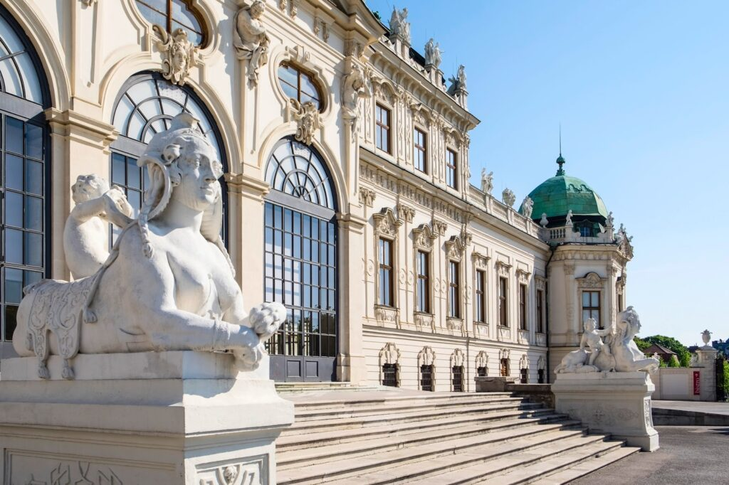 Upper Belvedere, not to be missed during 24 hours in Vienna