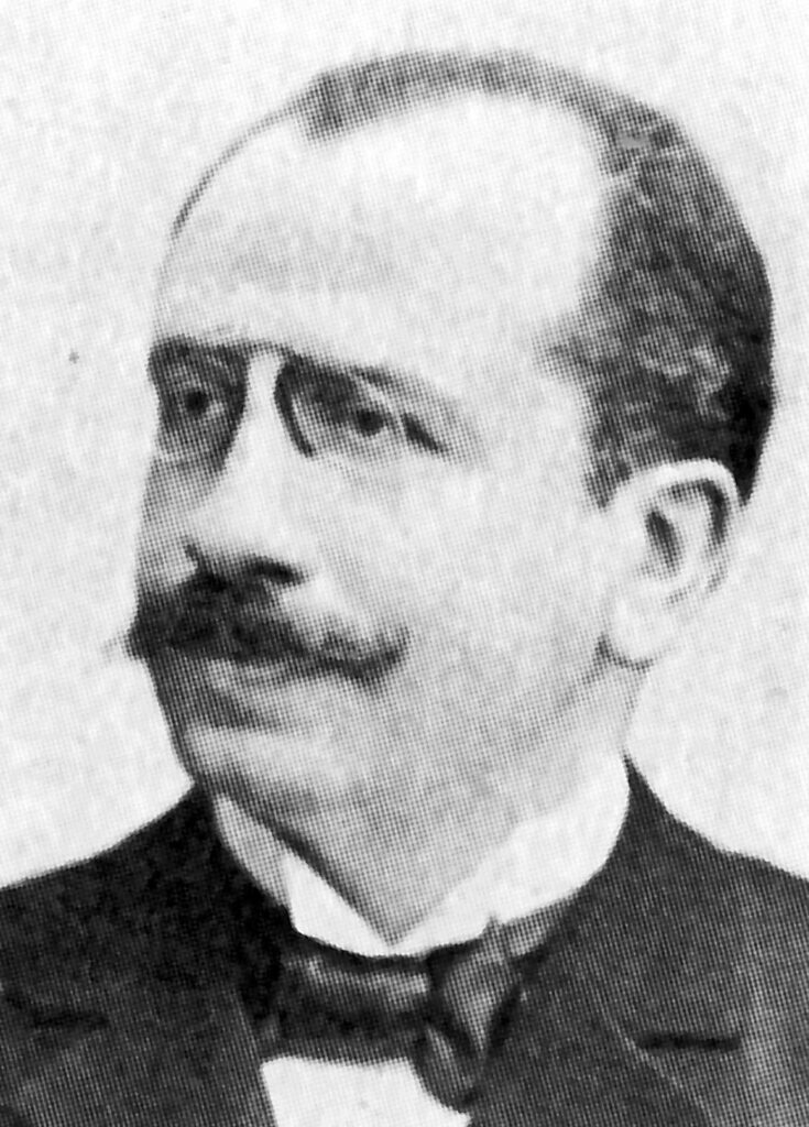 Portrait of Albert Ballin, the man who enabled Migration from North German Ports to the Americas