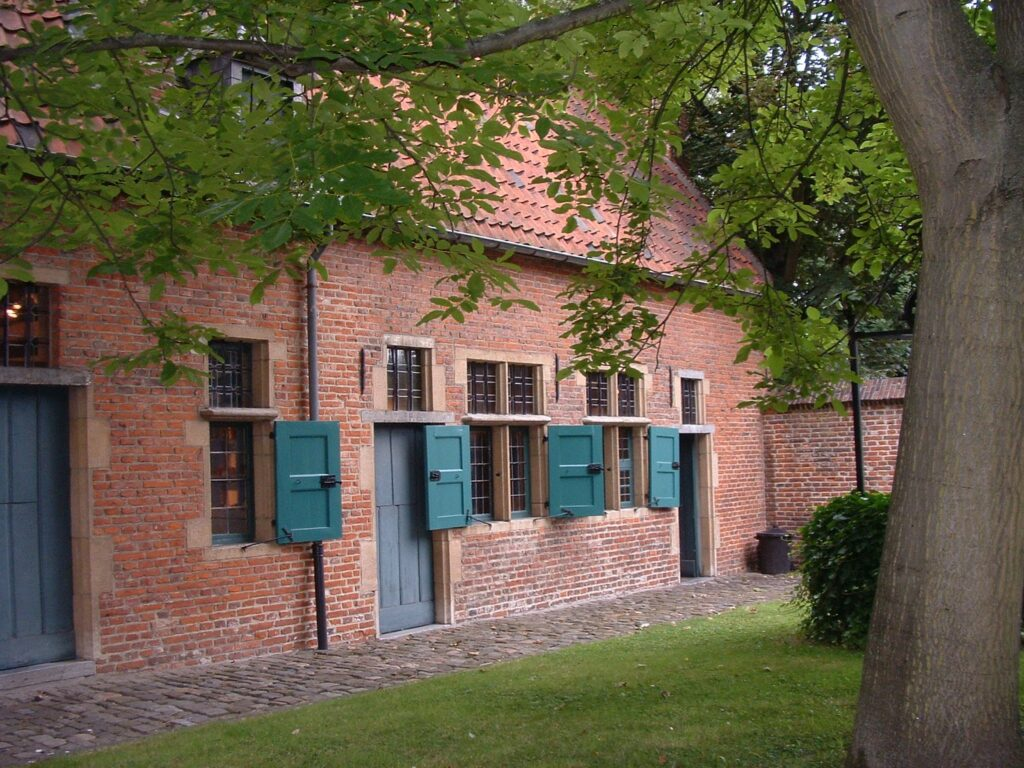 The Old Beguinage of Anderlecht.