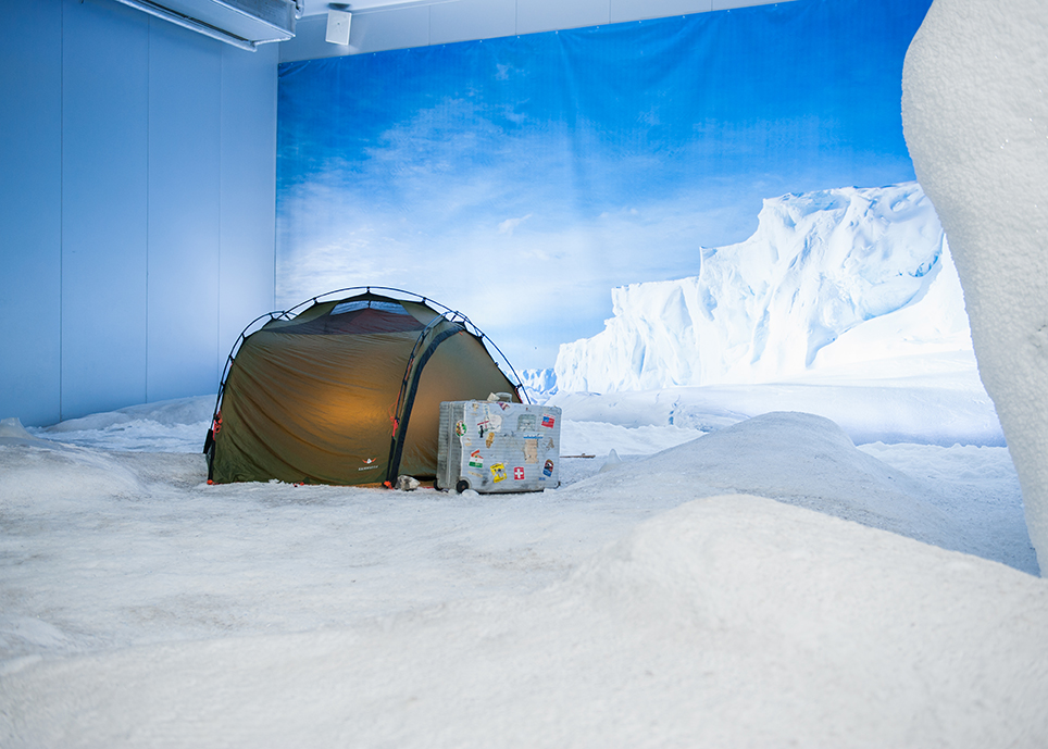 Antarctica at the Klimahaus in Bremerhaven