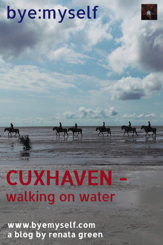 Pinnable Picture for a Post on Cuxhaven and the Tideland