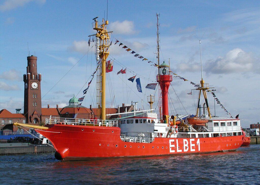 ELBE 1 ship