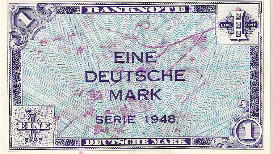 One Mark Bill from 1948