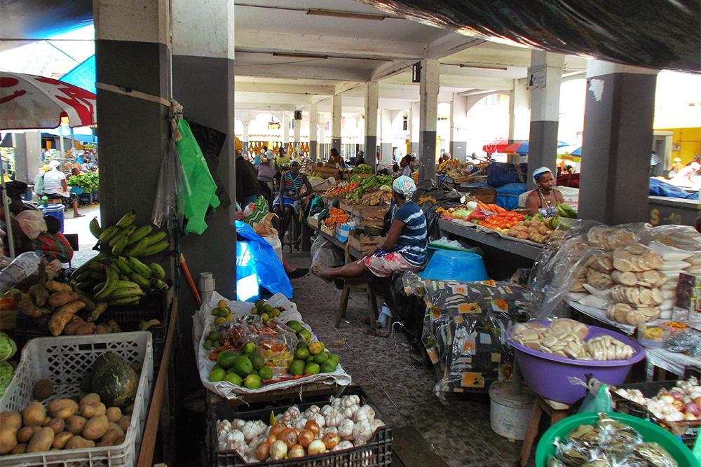 Mercado Municipal of Assomada.