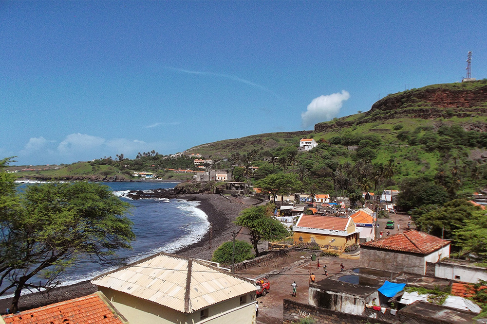 View of Cidade Velha from the Forte Real de São Felipe