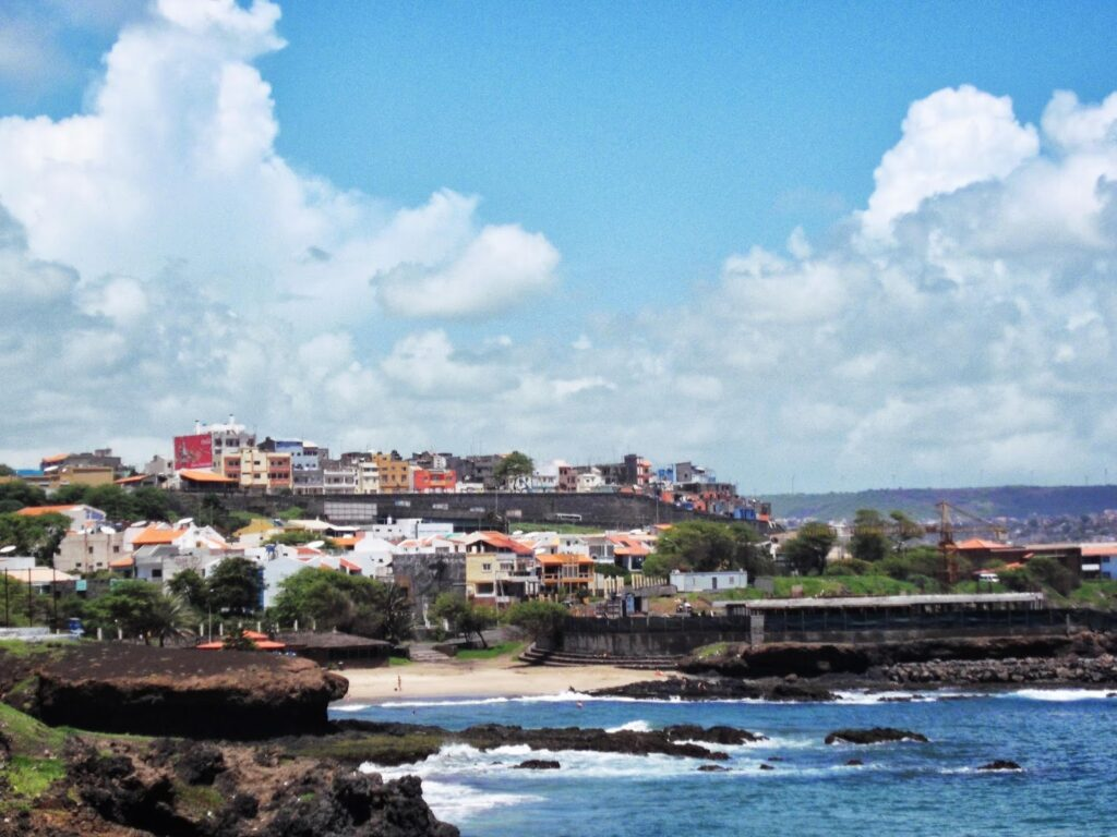 The Platô behind Praia Gamboa on the Island of Santiago