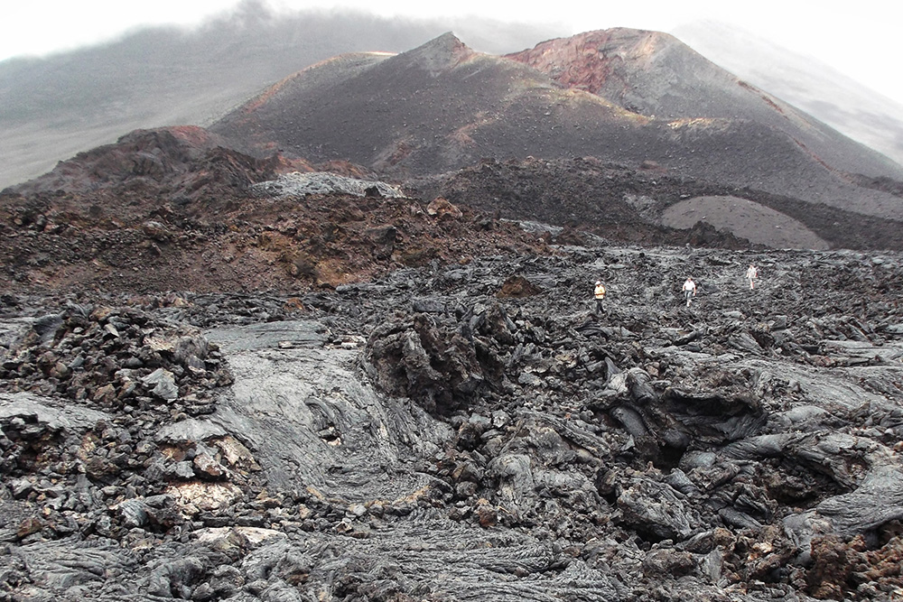 Volcanos on the island of Fogo, Cape Verde
