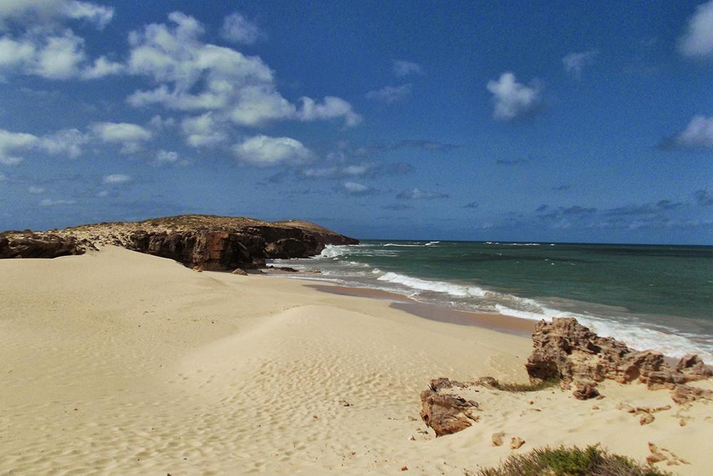 Praia da Varadinha on Boa Vista, the world's most attractive heap of sand