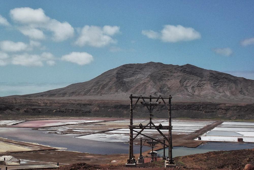 The Old Salt Mine of Pedra de Lume.