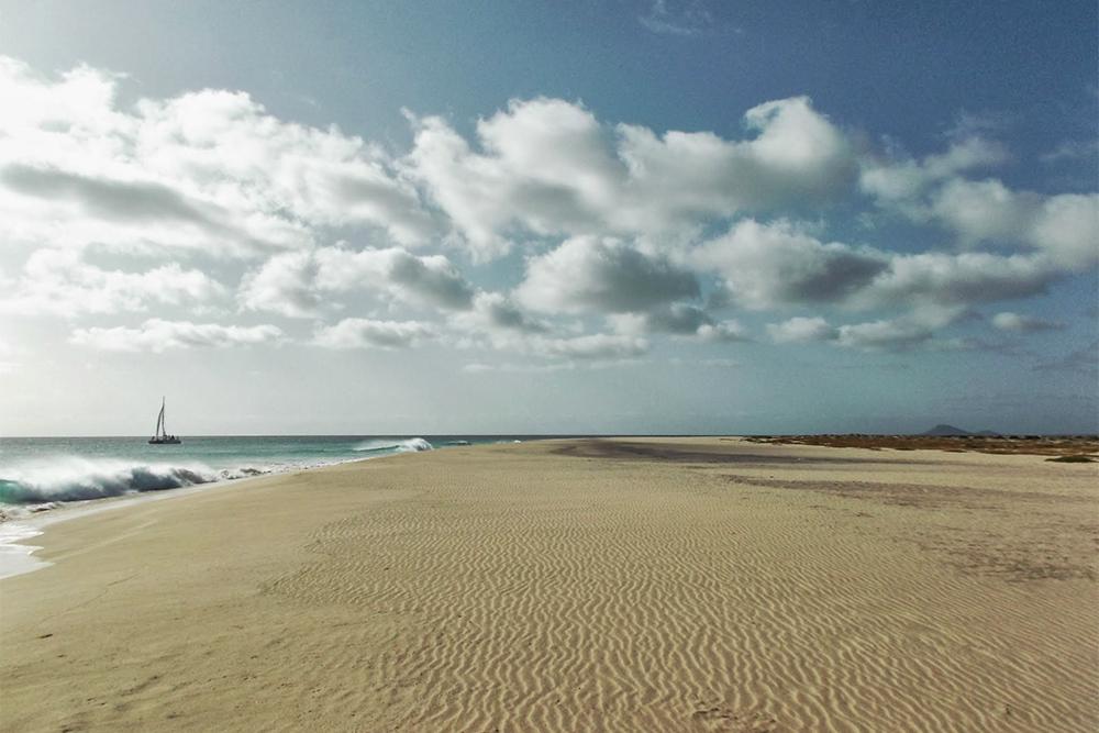 Beach of Santa Maria on Sal