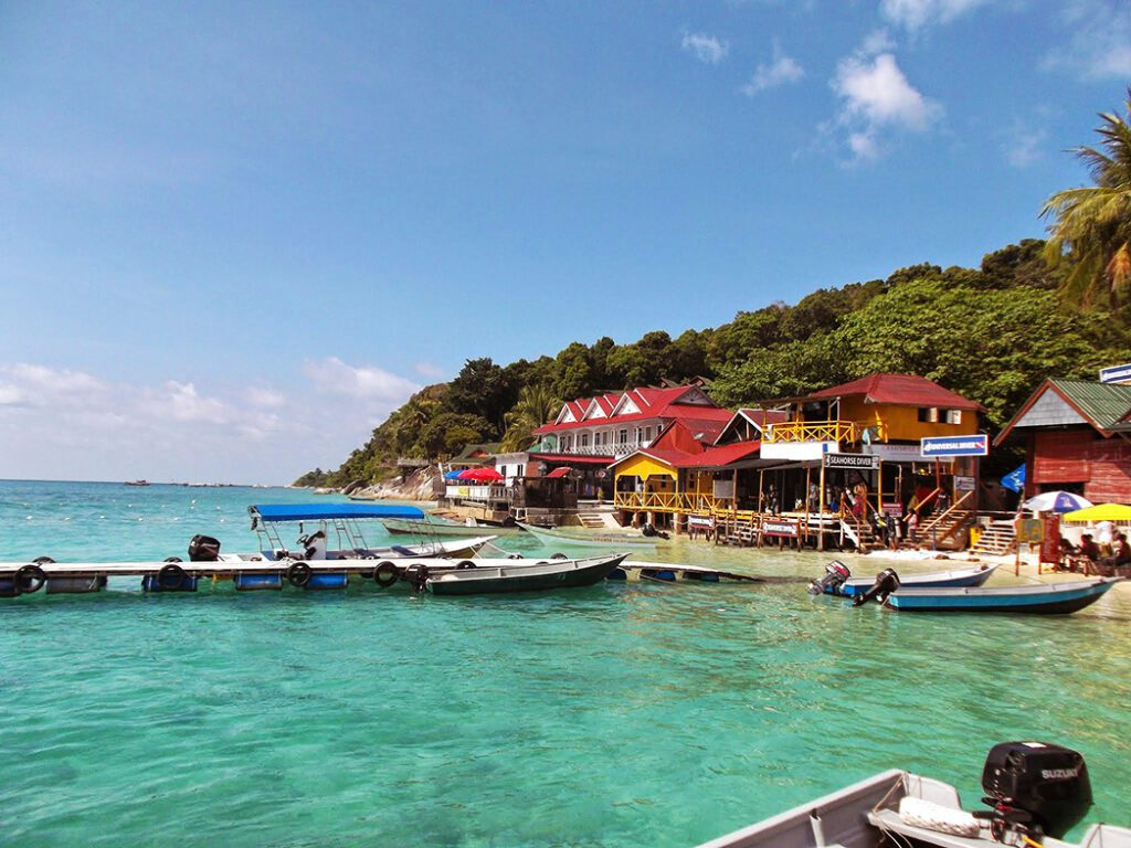 pulau perhentian besar malaysia asia