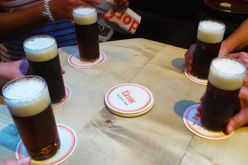 Beer in Düsseldorf
