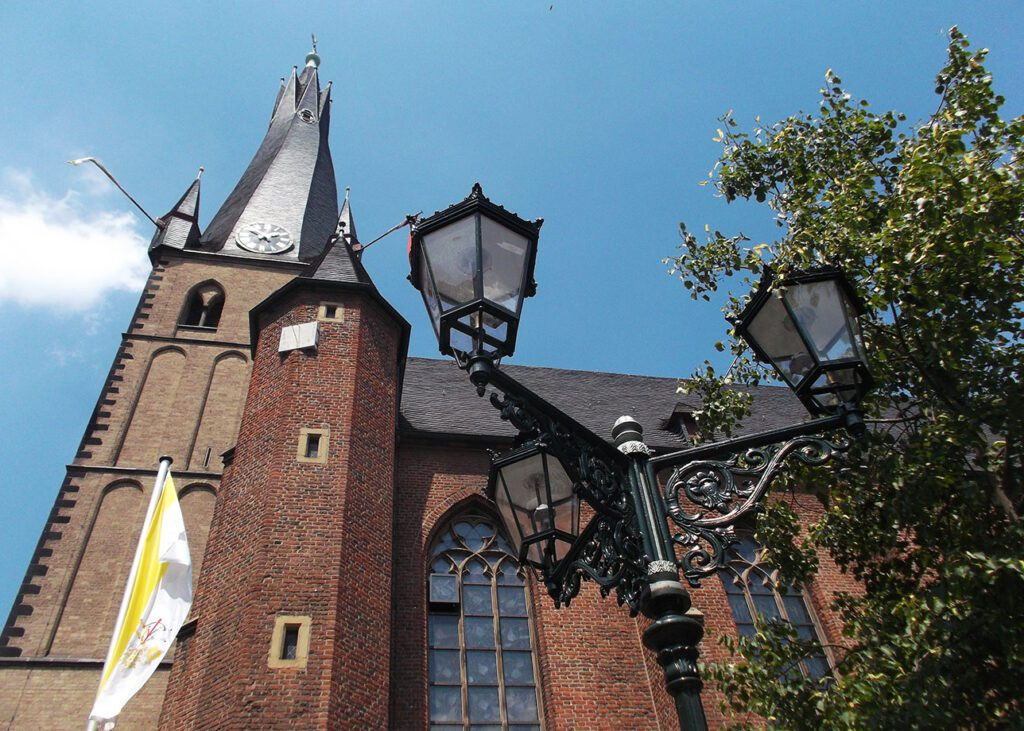 St. Lambertus - probably the Düsseldorf's oldest building.