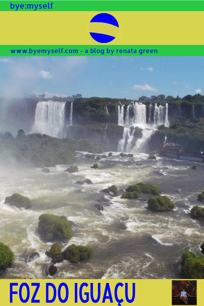 Pinnable Picture for the Post Guide to FOZ DO IGUAÇU - Where the Water Falls in Waterfalls