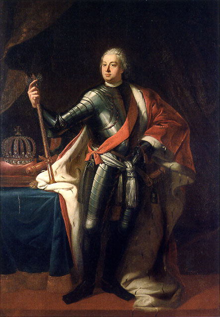Frederick William I painted by Samuel Theodor Gericke. One of the Frederick's that made in Potsdam a small town great