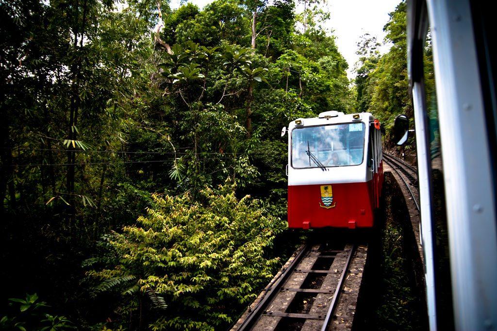 Funicular Railway on Penang Island