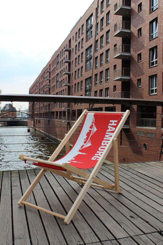 Budnikowsky Chair at Speicherstadt Hamburg