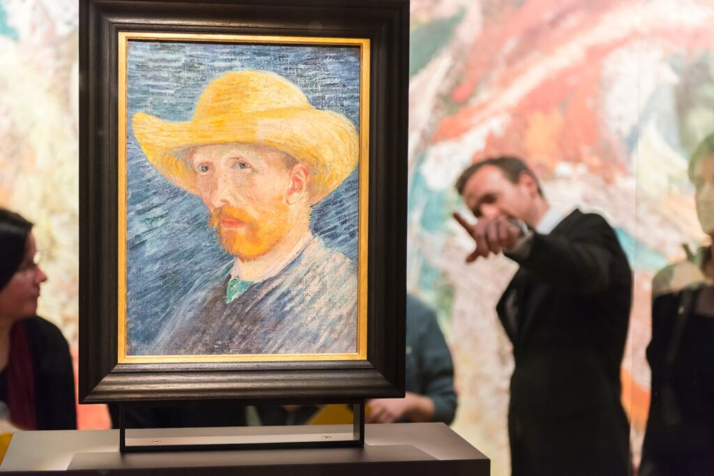 Van Gogh Museum to be visited during 24 hours in Amsterdam