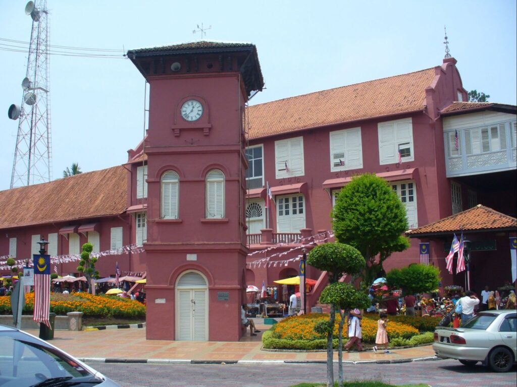 Clock Tower and Stadthuys in Malacca